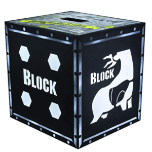 Block Vault 4-Sided Archery Target with Polyfusion Technology